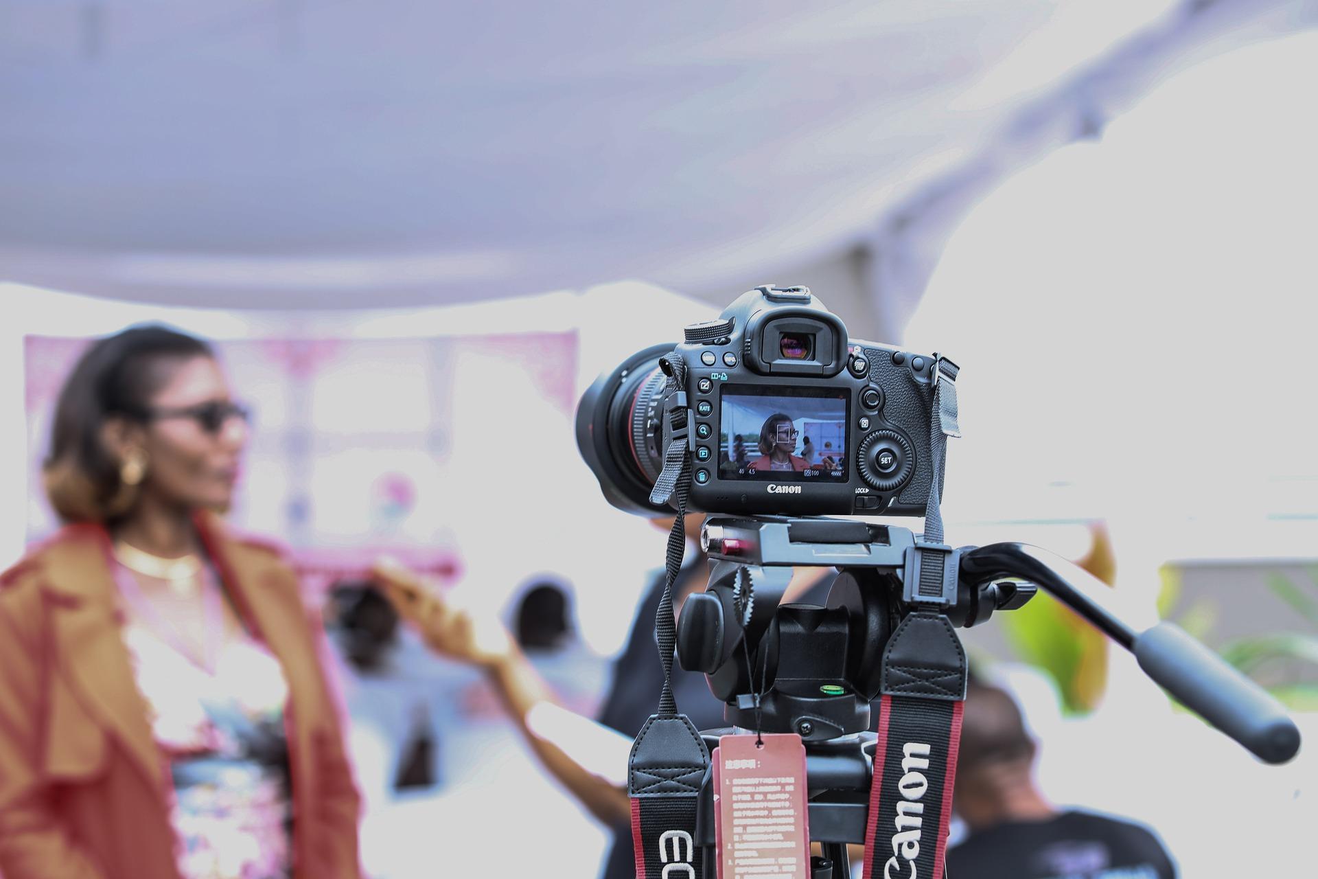 natáčení videa