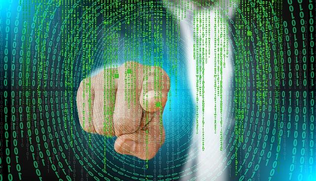 počítač a kódy