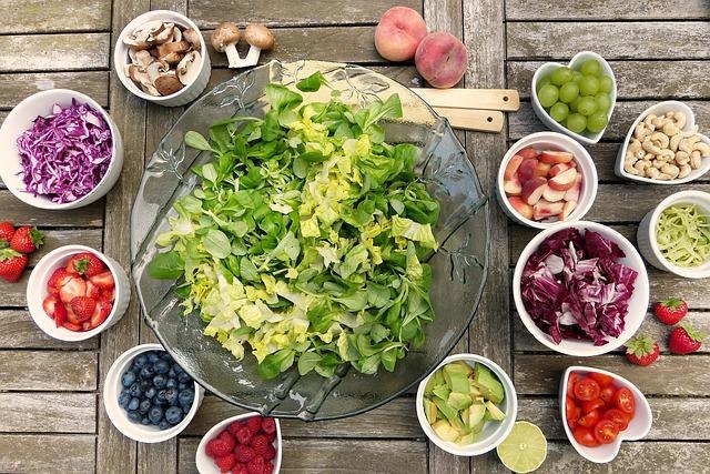 potraviny na salát