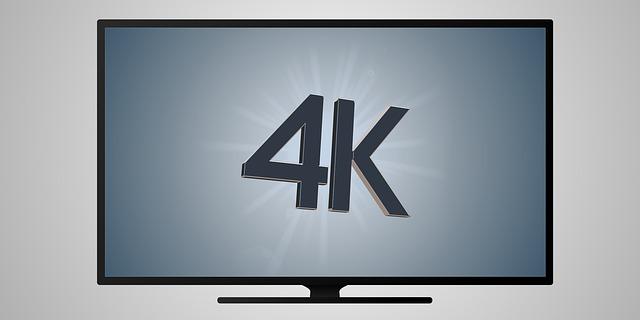 4k v televizi